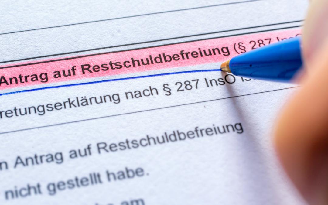 Restschuldbefreiung – was bedeutet das und was muss der Schuldner dafür tun?