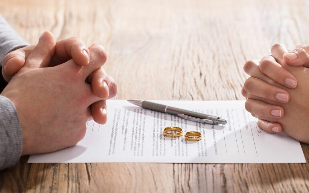 Schulden bei Scheidung – wer ist nun für die Verbindlichkeiten verantwortlich?